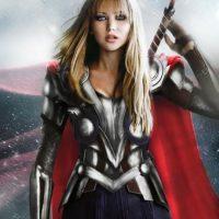 "Jennifer Lawrence sería ""Thor"" Foto:vía disimilis.tumblr.com"