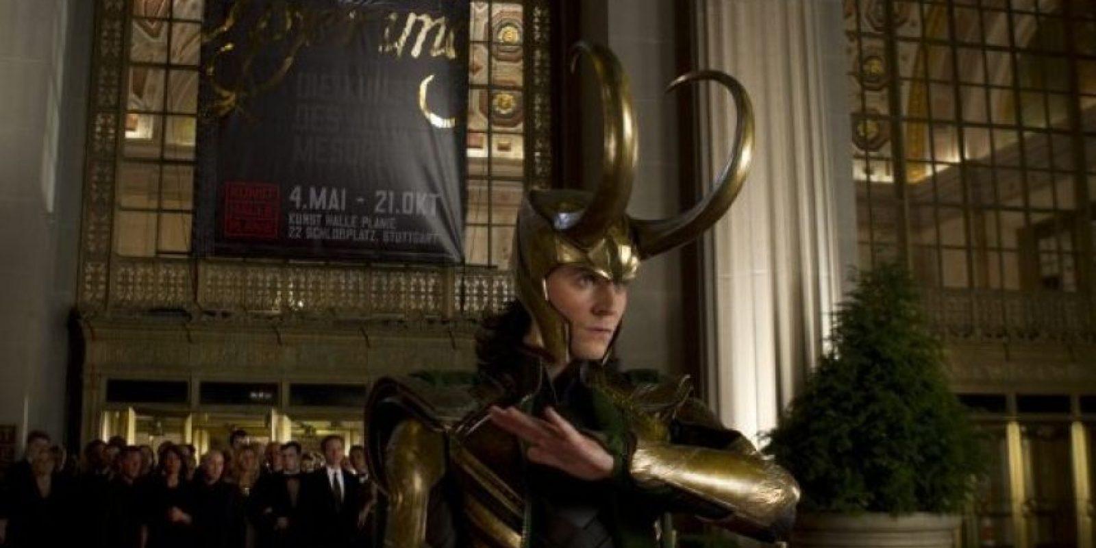 "Tom Hiddleston interpreta a ""Loki"" Foto:IMDB"