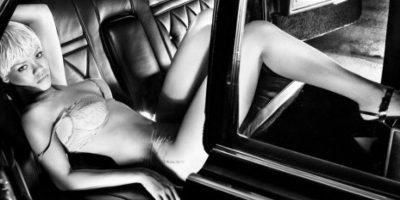 En las imágenes se observa a la sensual y renovada Rihanna Foto:Armani Jeans