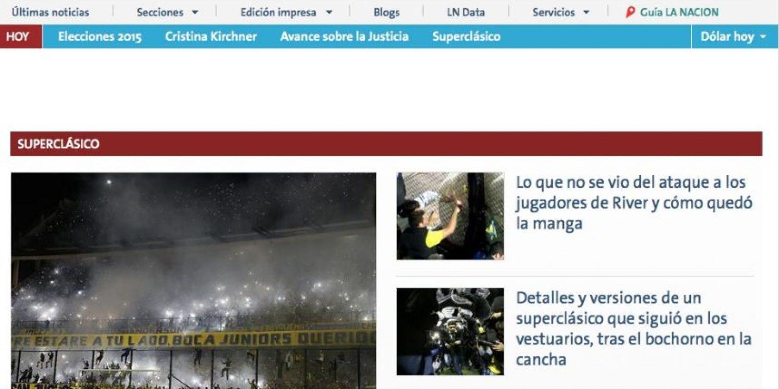 La Nación Foto:Lanacion.com.ar
