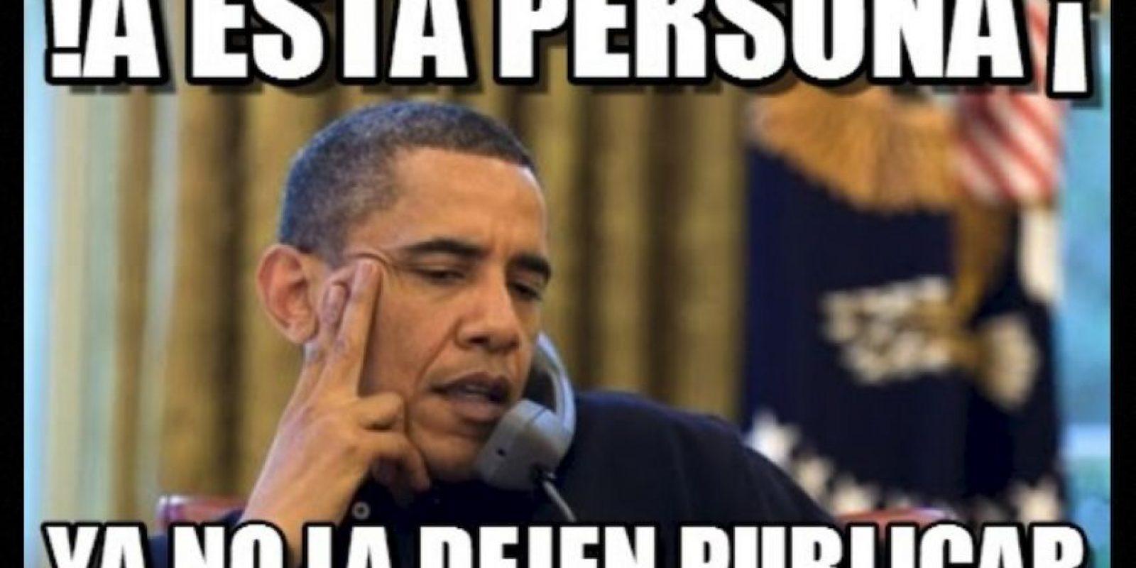 Barack Obama, presidente de Estados Unidos Foto:Generadordememes.com