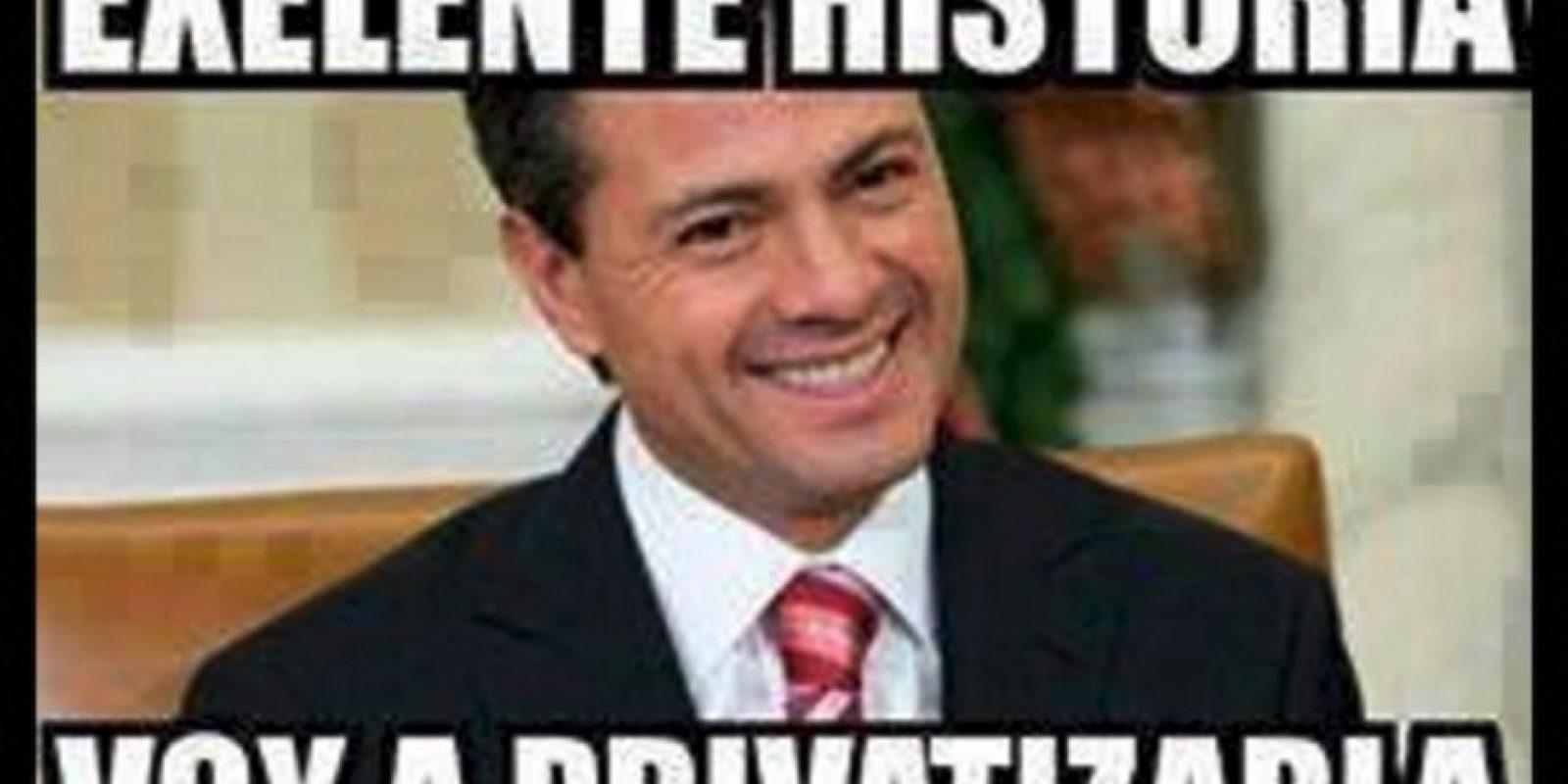 Enrique Peña Nieto, presidente de México Foto:Twitter – Archivo