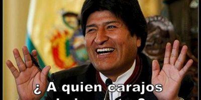 Evo Morales, presidente de Bolivia Foto:Twitter – Archivo