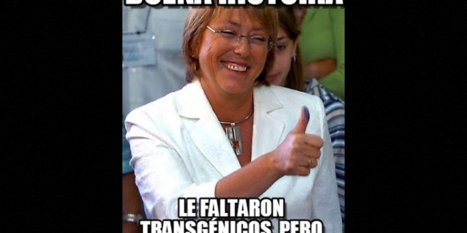 Michelle Bachelet, presidenta de Chile Foto:Twitter – Archivo