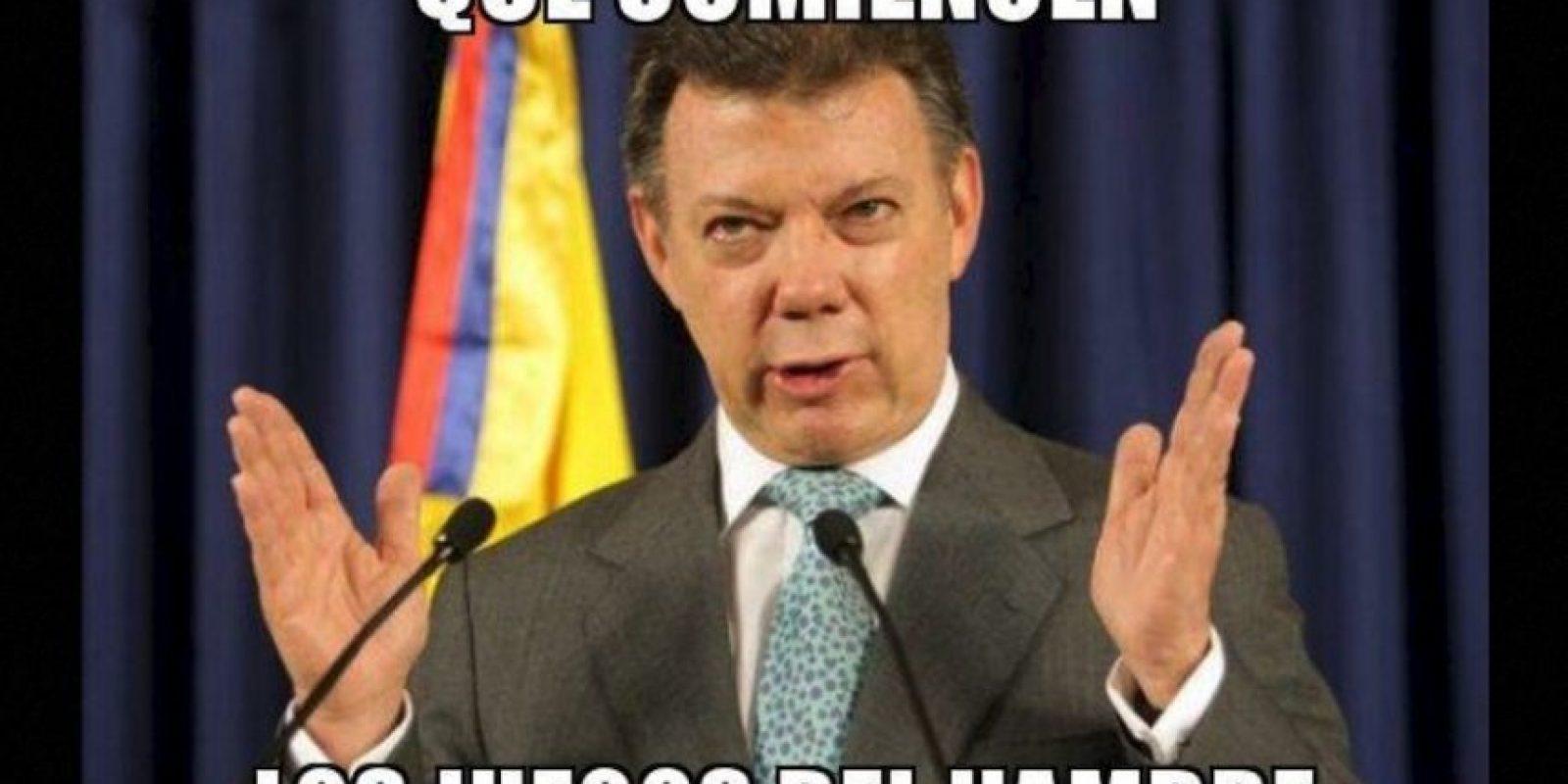 Juan Manuel Santos, presidente de Colombia Foto:Twitter – Archivo