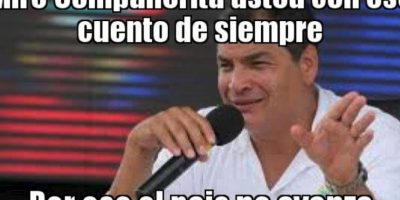Rafael Correa, presidente de Ecuador Foto:Twitter – Archivo