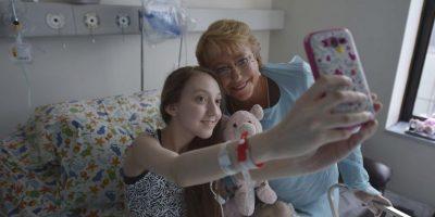 El caso de Valentina Maureira se conoció por un video en el que pedía a presidenta Michelle Bachelet que le autorizara la eutanasia. Foto:AP