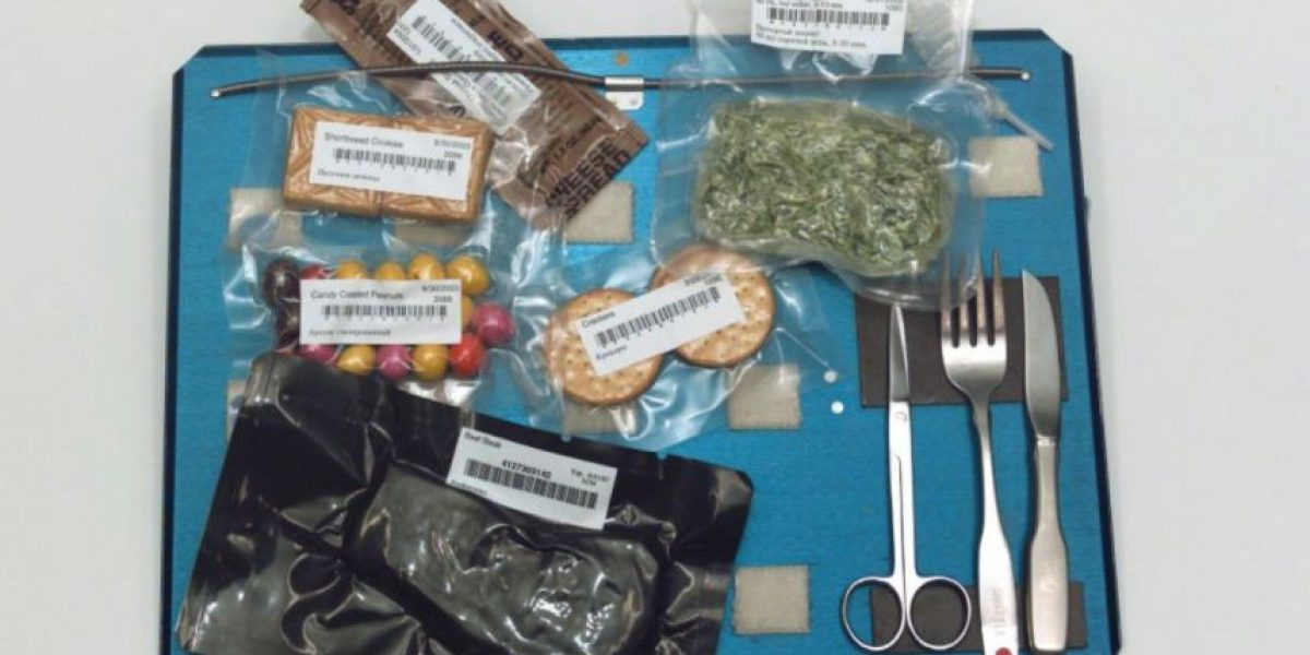 Estos son los alimentos que comerían en un viaje espacial
