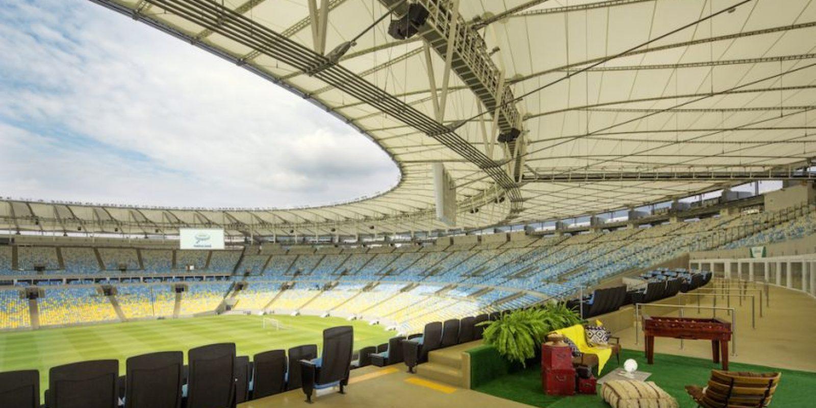 Hospedarse en el Maracaná es el sueño de muchos aficionados al fútbol. Foto:Airbnb
