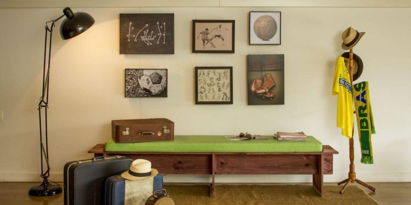 La habitación está diseñada para dos personas. Foto:Airbnb