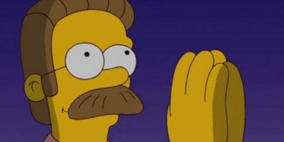 La voz de Flanders y el señor Burns dice adiós a