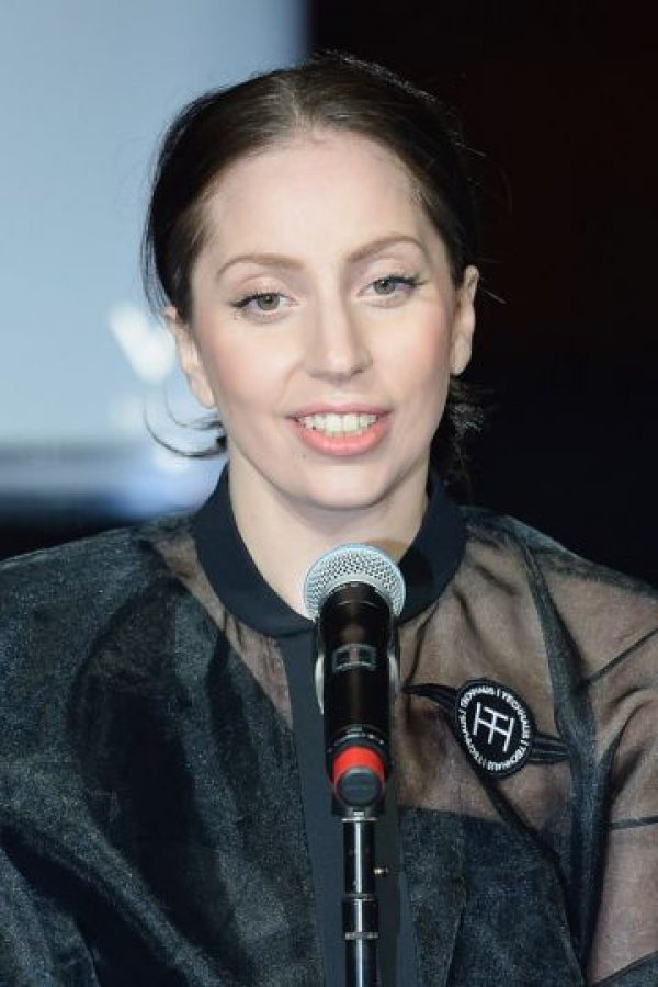 Lady Gaga, al natural. Foto: vía Getty Images