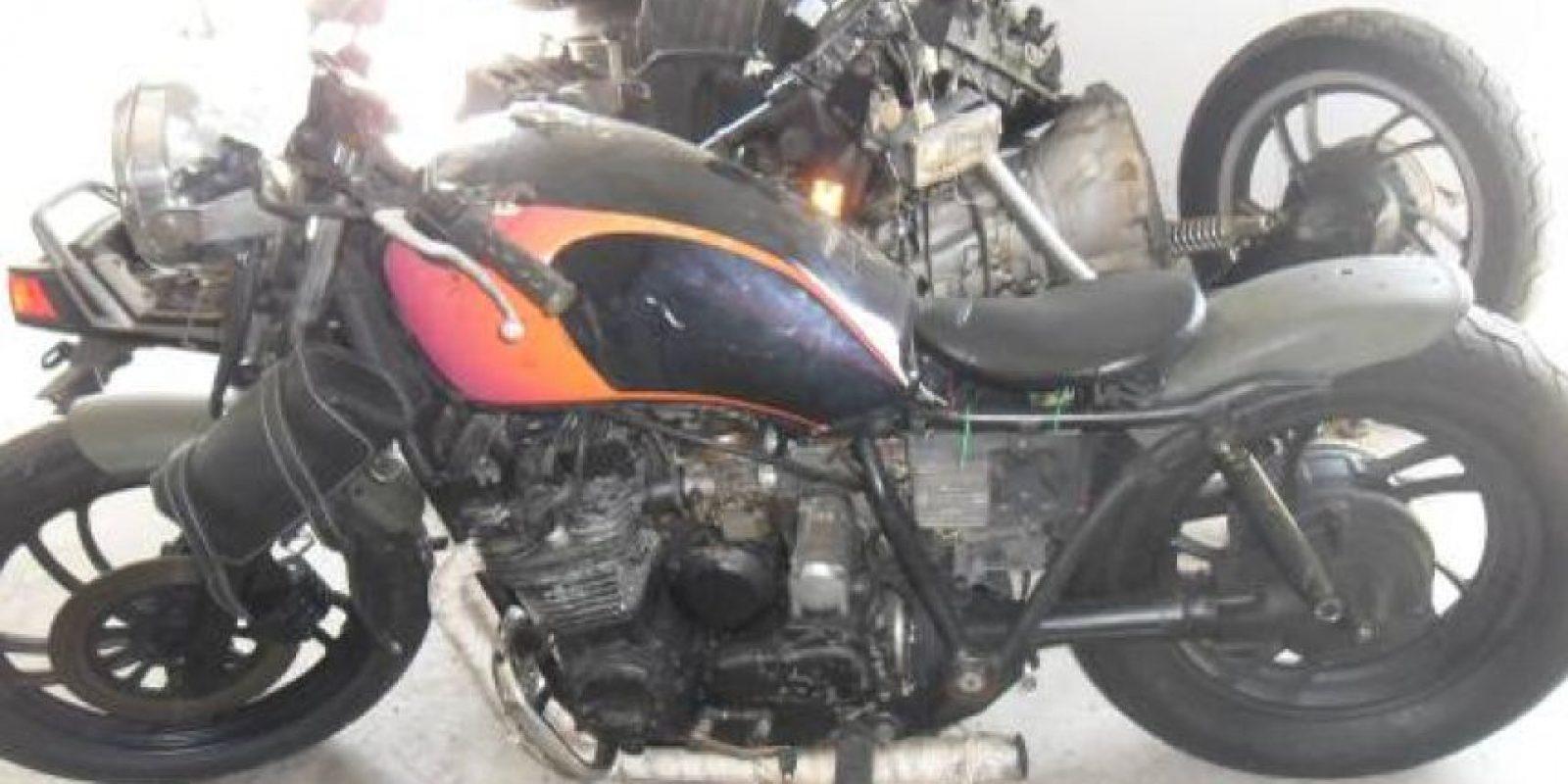 Una motocicleta. Foto:vía Tumblr