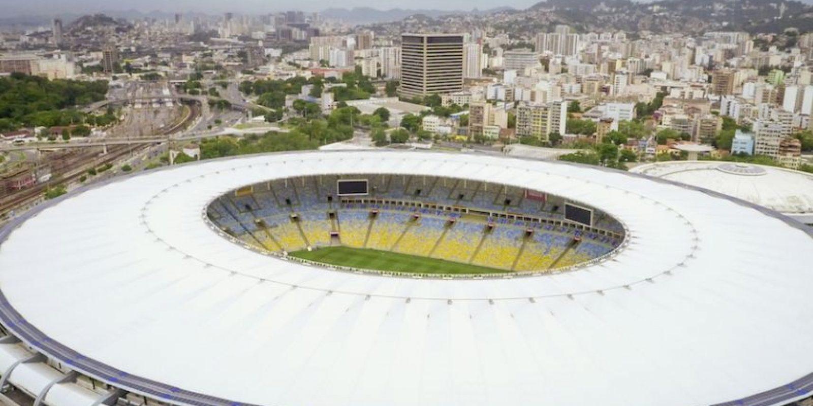 El Estadio Maracaná se ubica en Río de Janeiro, Brasil. Foto:Airbnb