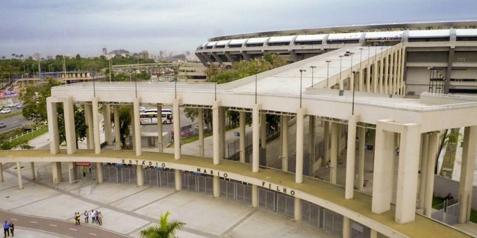 Esta es la entrada principal del Estadio Maracaná. Foto:Airbnb