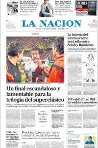La Nación Foto:La Nación