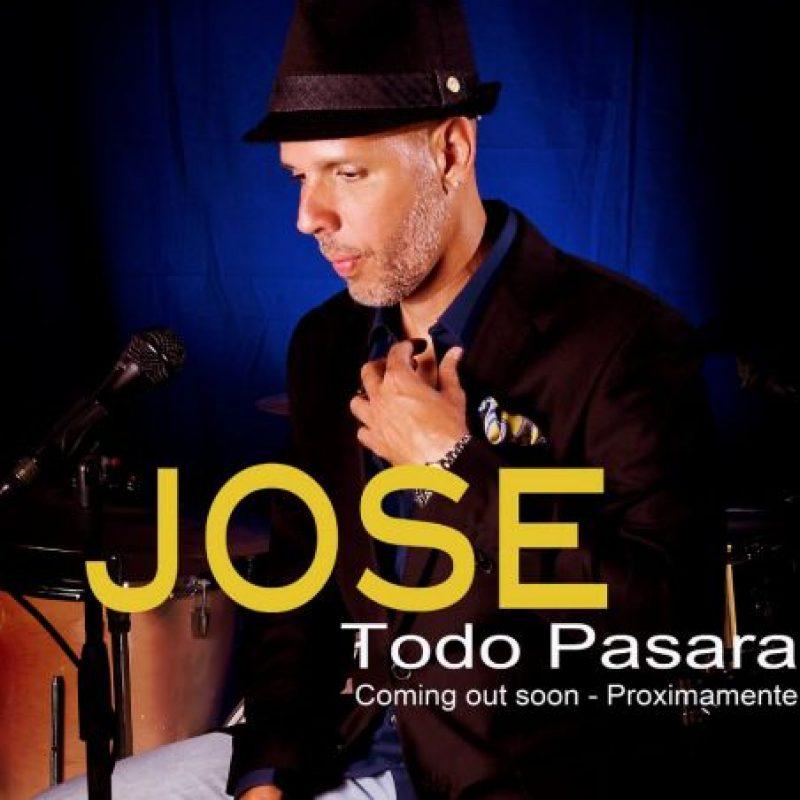 Este es su nuevo disco solista. Foto:vía Facebook/José Fernández