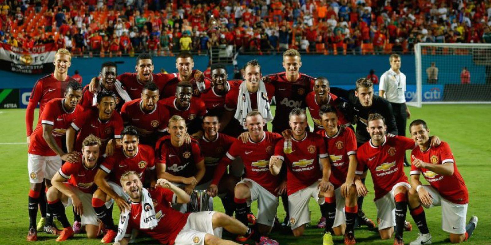 Pero el club inglés escogió a David Moyes y Guardiola se fue a Bayern Munich. Foto:Getty Images