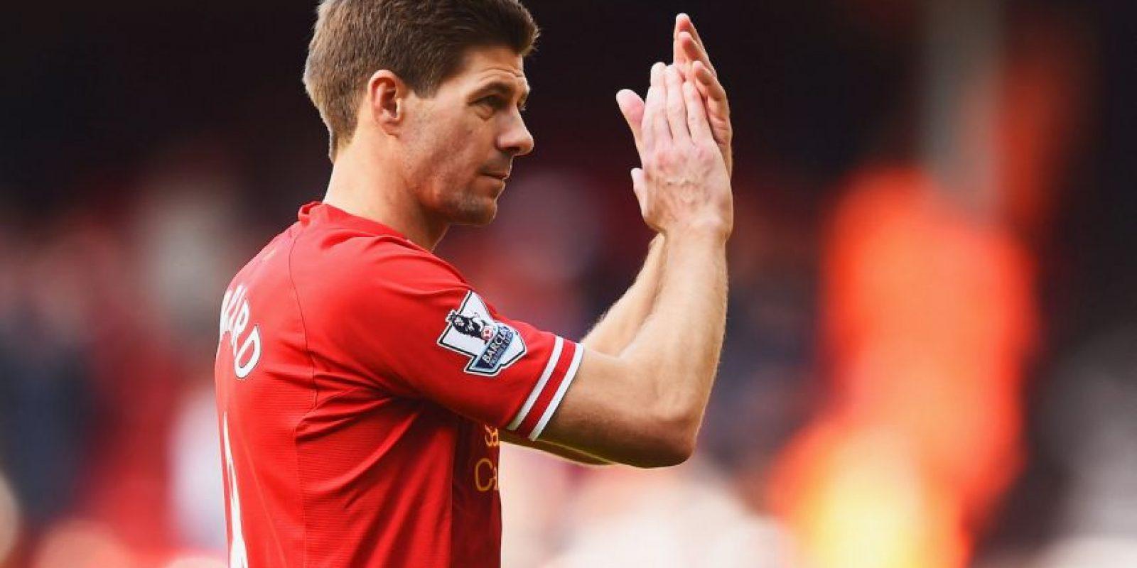 Steven Gerrard es el ícono histórico del Liverpool. Foto:Getty Images