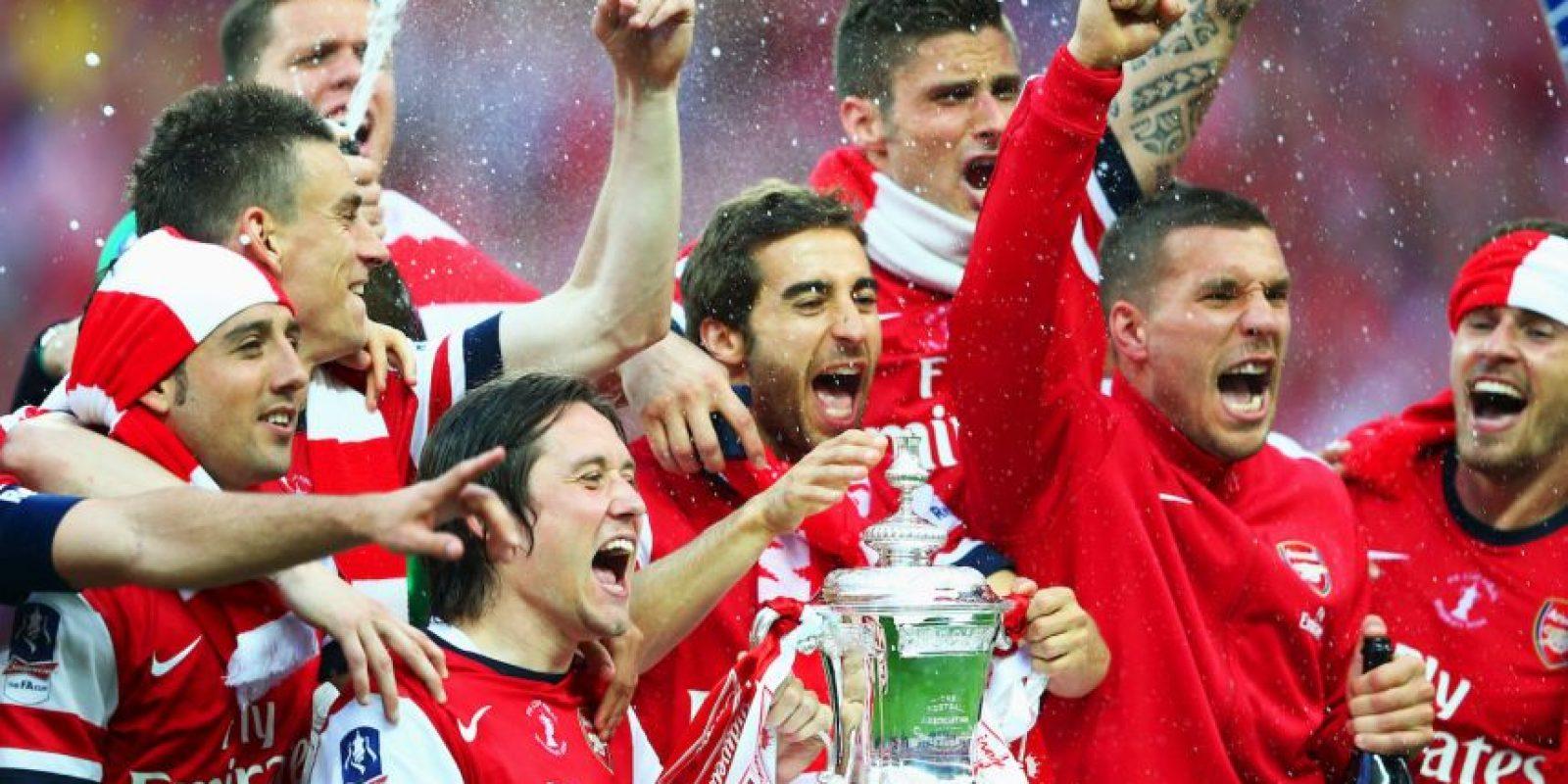 Arsene Wenger, entrenador del Arsenal, tiene contrato vigente con el club londinense hasta 2017. Foto:Getty Images