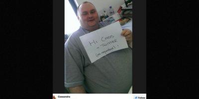 Una tuitera, conmovida por su acción, decidió buscarlo. Foto:Twitter