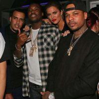 Con Khloé Kardashian y French Montana Foto:Instagram.com/chinxmusic