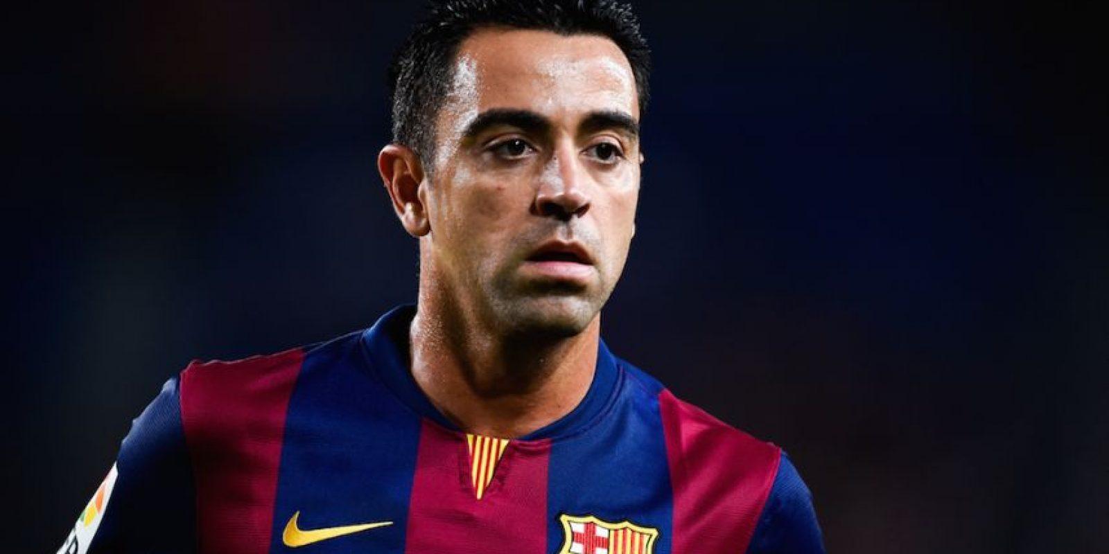 Xavi está viviendo sus últimos encuentro con los culés. Foto:Getty Images