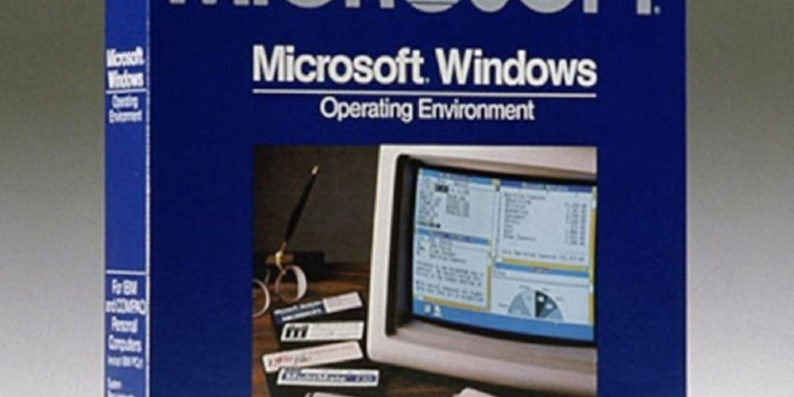 Microsoft inició actividades en el año de 1975 con la producción de software y pequeñas computadoras de escritorio. Les presentamos el Windows 1.0 creado por esta empresa en 1983. Foto:Vía windows.microsoft.com