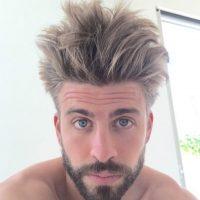 Gerard Piqué sorprendió a sus seguidores con su nuevo color de cabello. Foto:instagram.com/3gerardpique