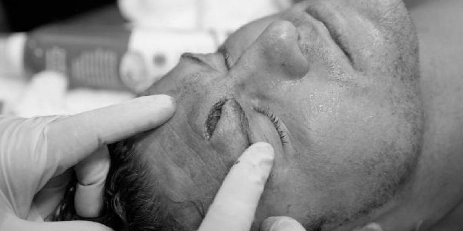 Pero la herida se dio después de un cabezazo que el mismo Ziggler realizó Foto:WWE