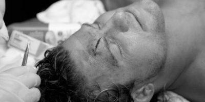 Ziggler terminó con una gran herida en la cara Foto:WWE