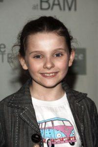 "Abigail interpretó a ""Olive"" a sus seis años. Foto:vía Getty Images"