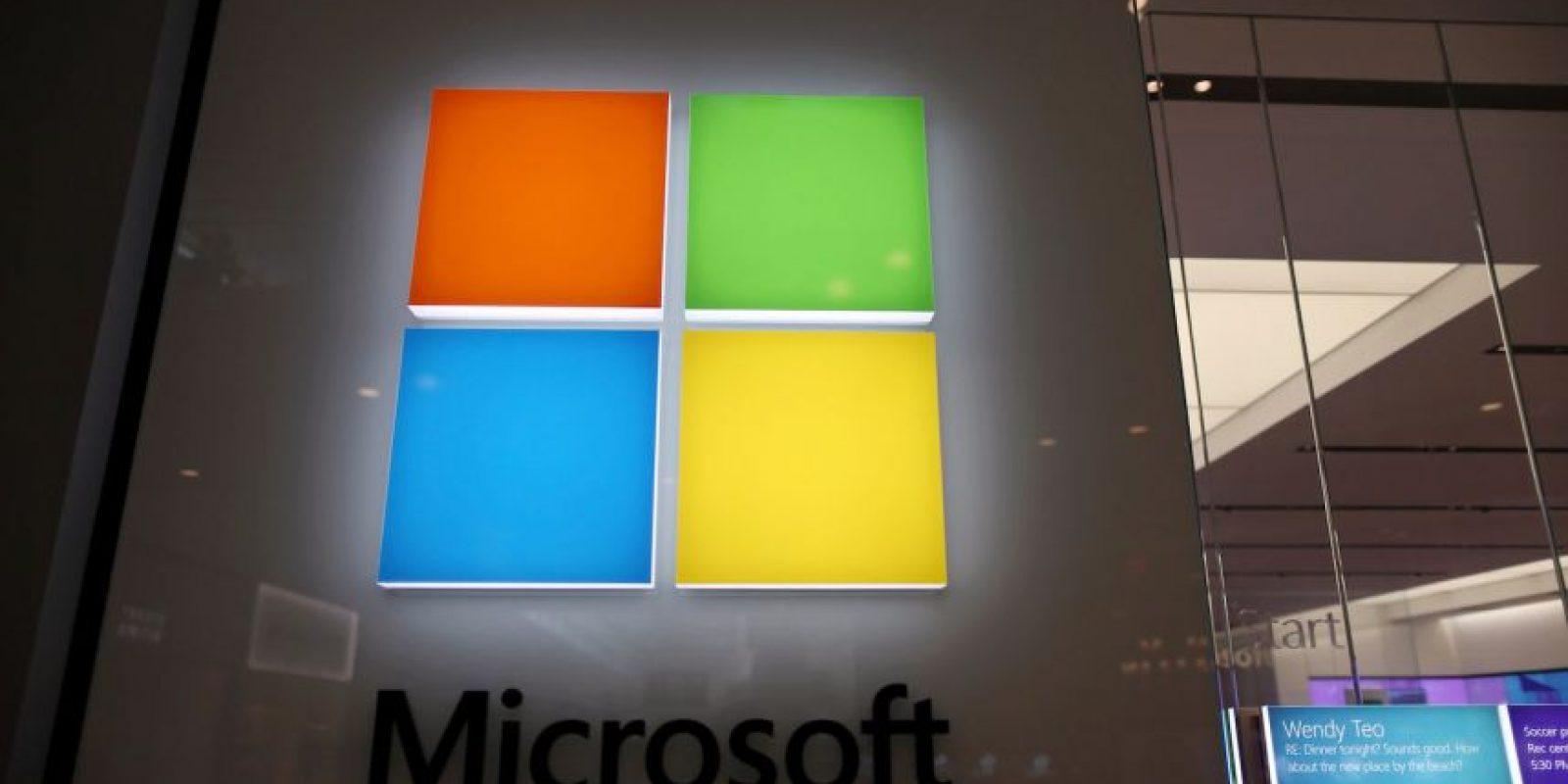 2) Microsoft 63 mil millones de dólares Foto:Getty Images