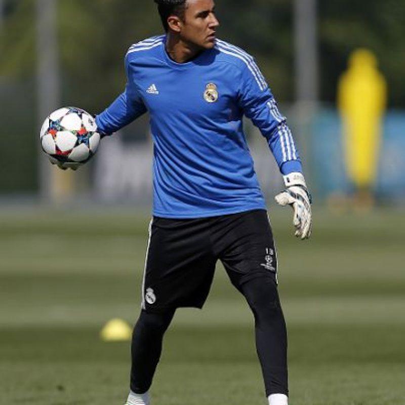 Keylor Navas, arquero costarricense, llegó a Real Madrid en julio pasado. Foto:Getty Images