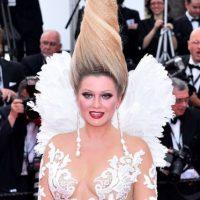 Y luego se puso el peinado de Fenomenoide. Foto:vía Getty Images