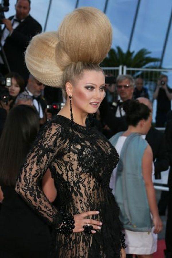 """Elena Lenina fue como """"El Cisne Negro"""". Foto:vía Getty Images"""