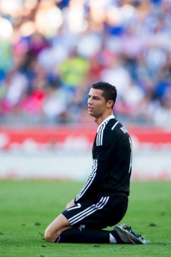"""Desde su llegada al Real Madrid, """"CR7"""" ha logrado números bastante soberbios. Foto:Getty Images"""