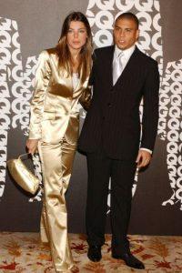 Se les vio juntos en 2004 y 2005, pero las infidelidades del excrack terminaron la relación Foto:Getty Images