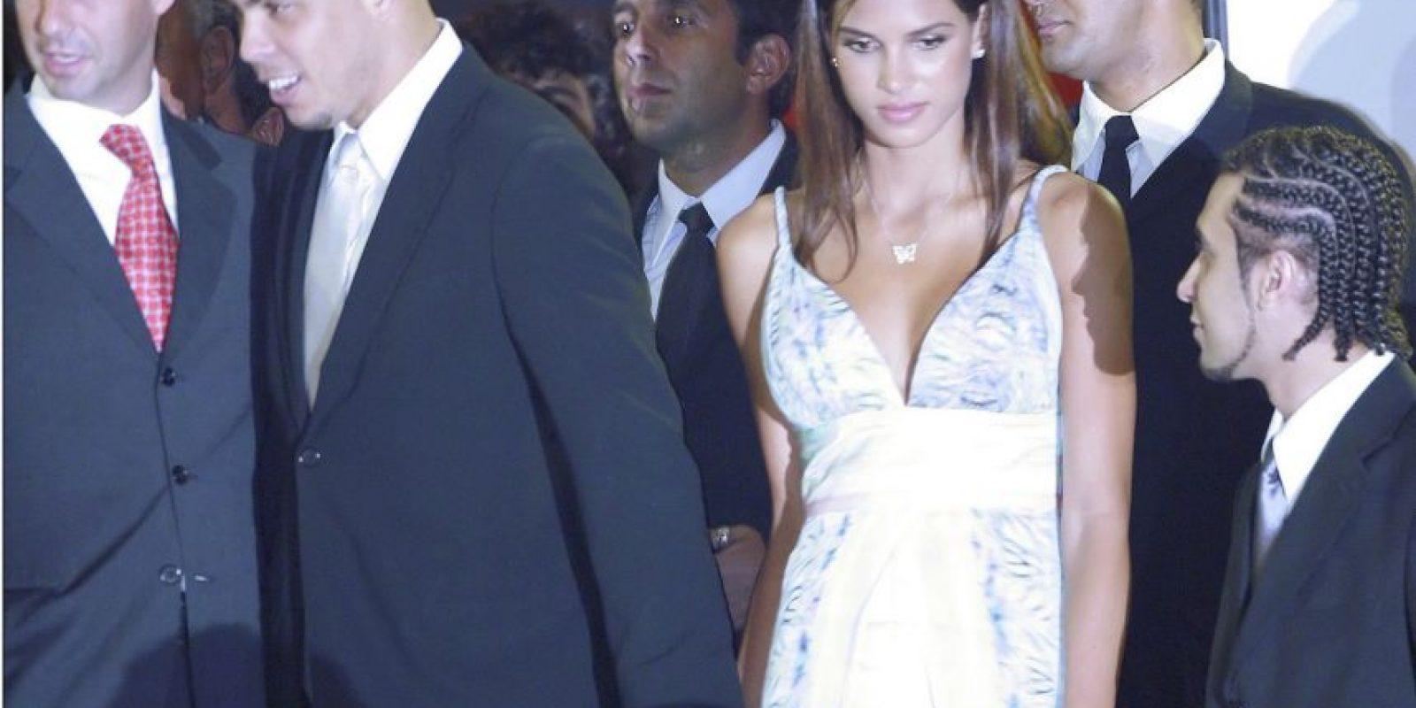 Ronaldo y Raica Oliveira Foto:Getty Images