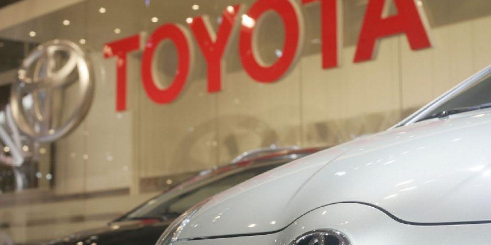 9) Toyota 31 mil 300 millones de dólares Foto:Getty Images
