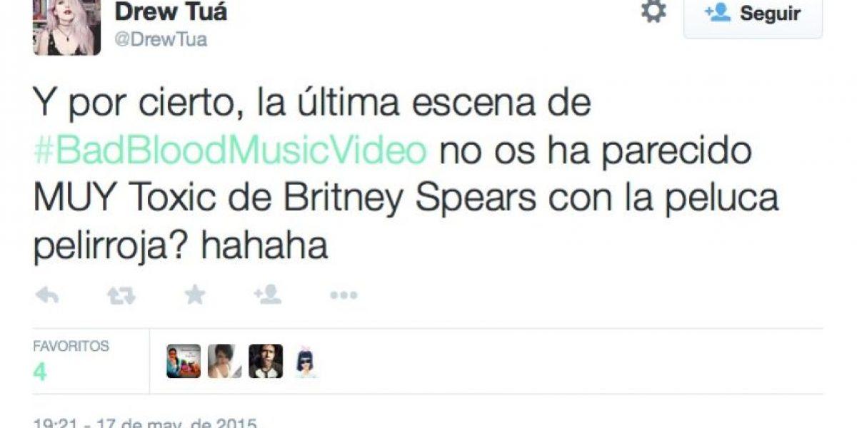 ¿Le robó a Britney? Esto es lo que dicen del nuevo video de Taylor Swift