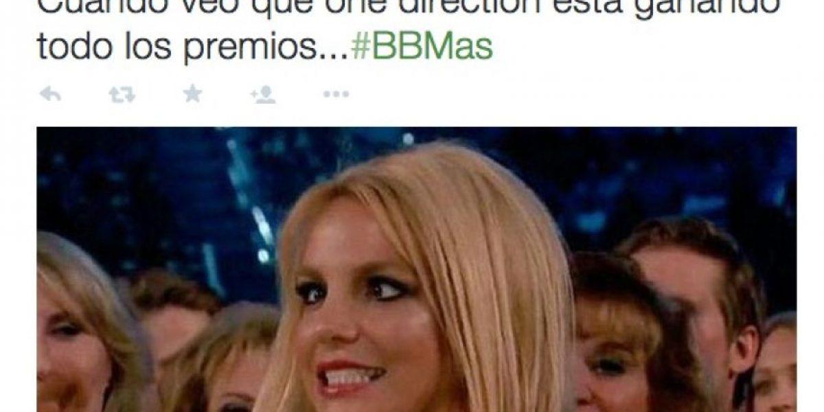 Estos son los mejores memes de Britney Spears en los Billboard