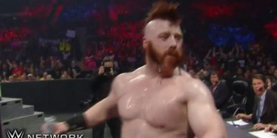 """""""El Guerrero Celta"""" castigó a Ziggler Foto:WWE"""