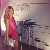 """Después del Mundial de Brasil 2014, la vedette Victoria Xipolitakis indicó que había tenido una aventura con el """"Pocho"""" Foto:instagram.com/yanaisok"""