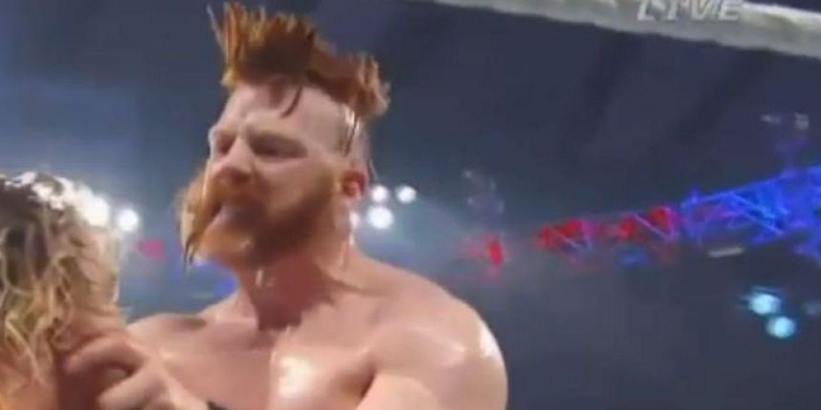 Sheamus superó a Dolph Ziggler Foto:WWE
