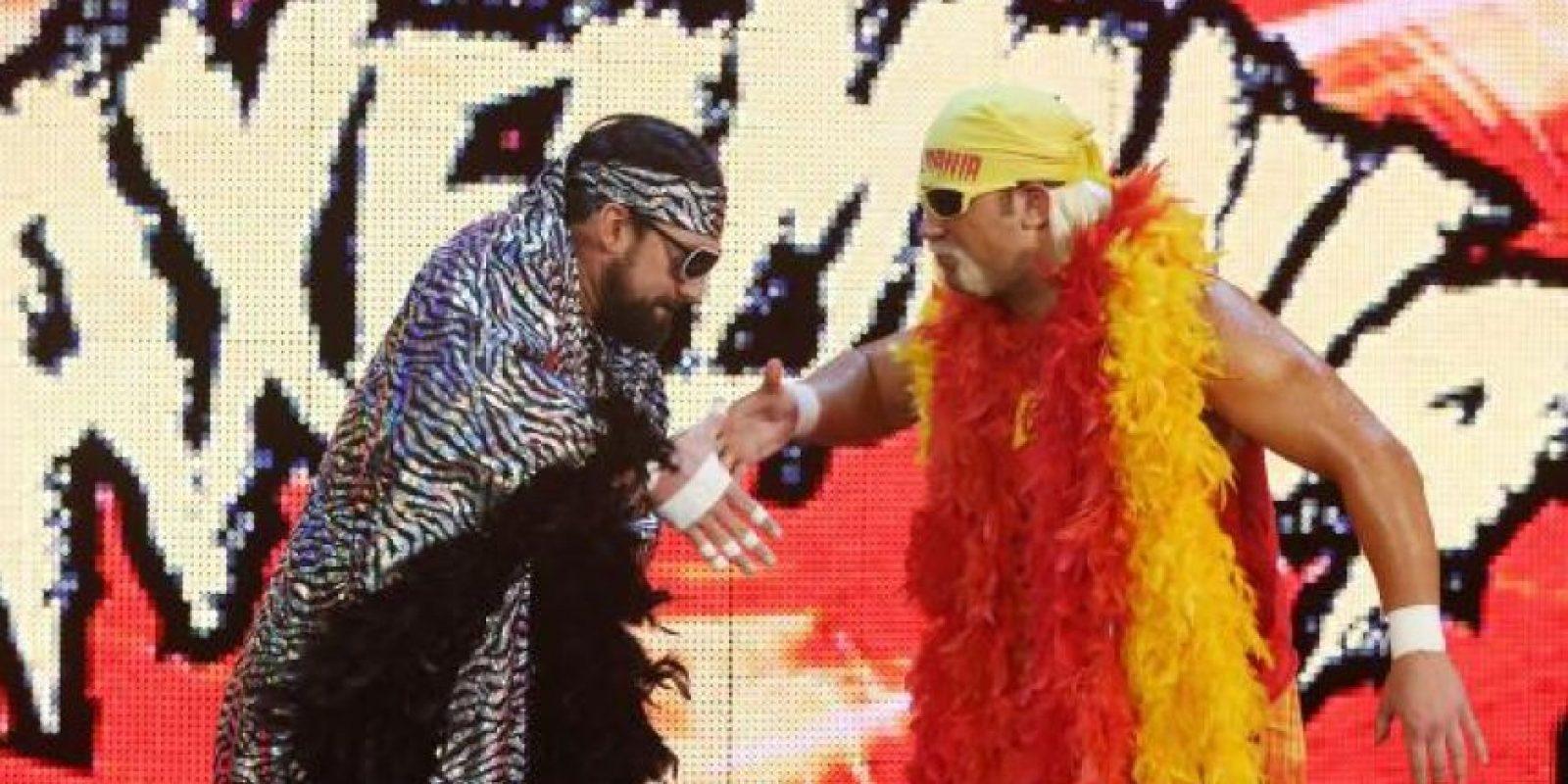 Vencieron a The Mega-Powers (Axelmania y macho Mandow) Foto:WWE