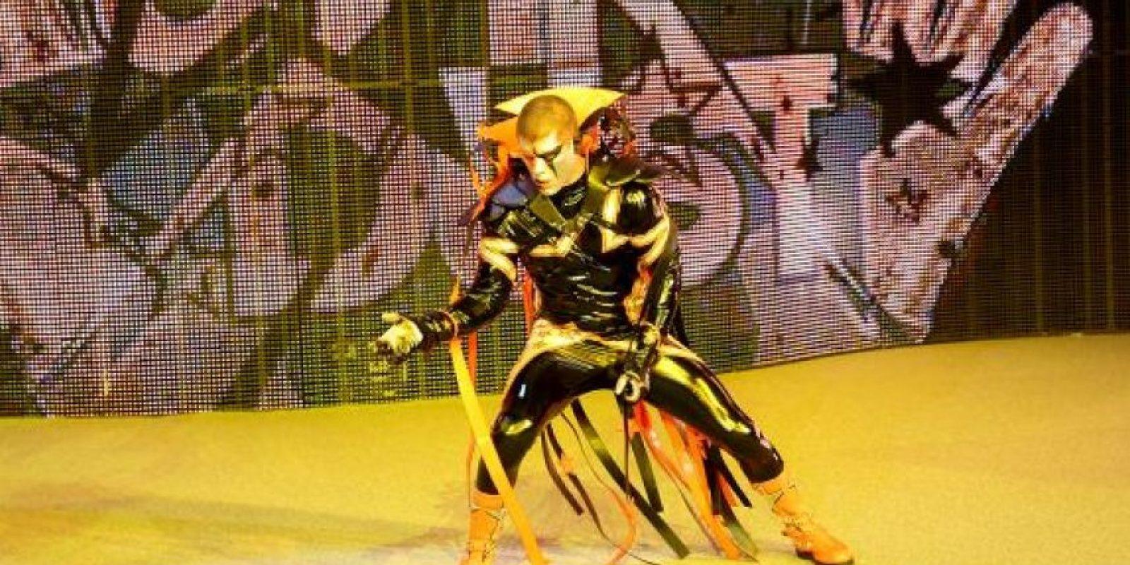 Derrotó a Stardust en la primera pelea de la cartelera Foto:WWE