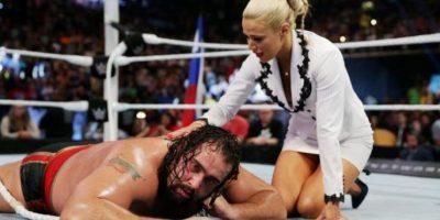 """Retuvo e Campeonato de Estados Unidos ante Rusev, en una pelea """"I Quit"""" Foto:WWE"""