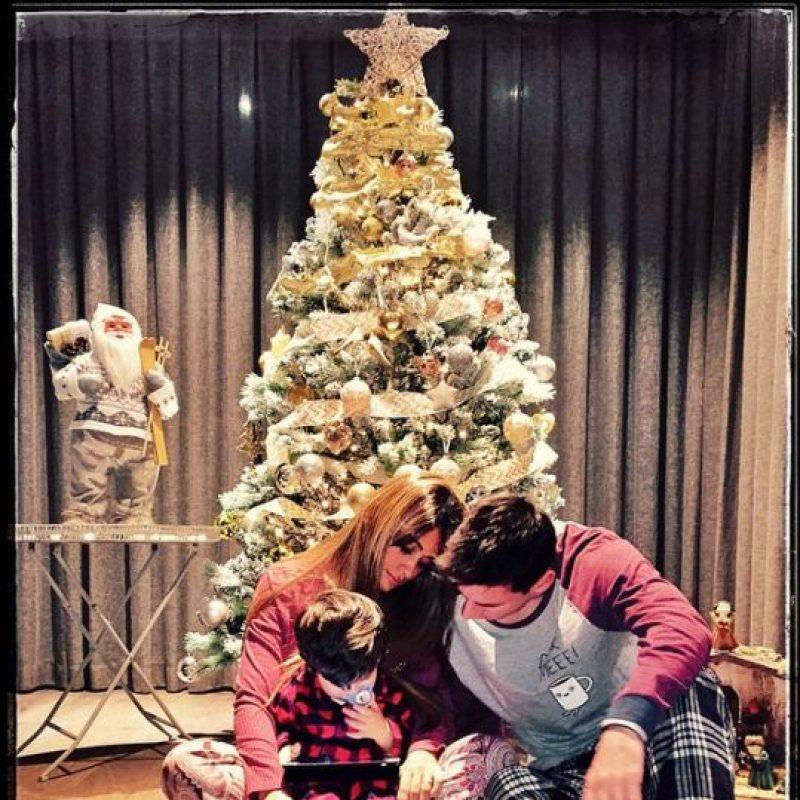 """""""Gracias a Dios por este regalo. Nació Thiago y soy el hombre más feliz del mundo"""", publicó Leo en su perfil oficial de Facebook en aquella ocasión. Foto:Vía instagram.com/antoroccuzzo88"""