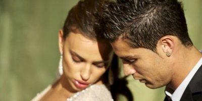 La modelo vio mensajes en el celular del futbolista Foto:Getty Images